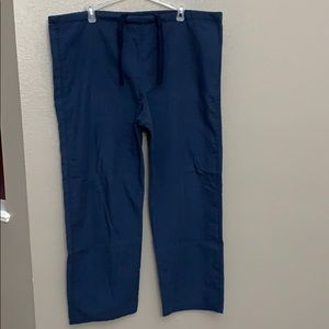 3 scrub pants size medium.